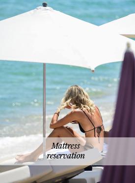 Mattress reservation